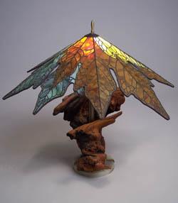 bigleaf maple leaf lamp